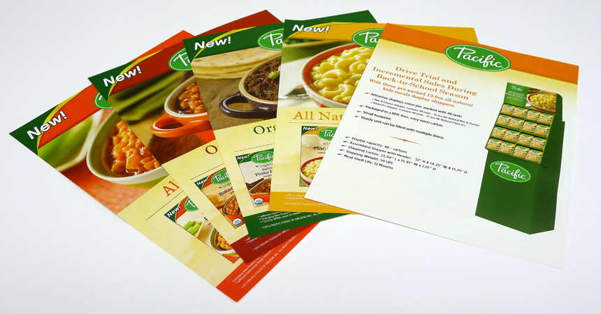Pacific Foods sell sheets